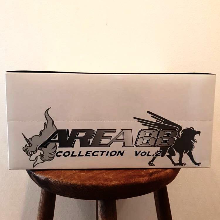 未開封 RIZCO AREA 88 COLLECTION VOL.2 エリア88 コレクション 1BOX 10個入 フィギュア 彩色済簡易組立キット 戦闘機 新谷かおる プラモ_画像4