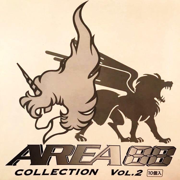 未開封 RIZCO AREA 88 COLLECTION VOL.2 エリア88 コレクション 1BOX 10個入 フィギュア 彩色済簡易組立キット 戦闘機 新谷かおる プラモ_画像7