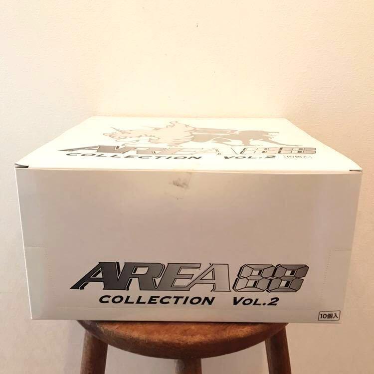 未開封 RIZCO AREA 88 COLLECTION VOL.2 エリア88 コレクション 1BOX 10個入 フィギュア 彩色済簡易組立キット 戦闘機 新谷かおる プラモ_画像3