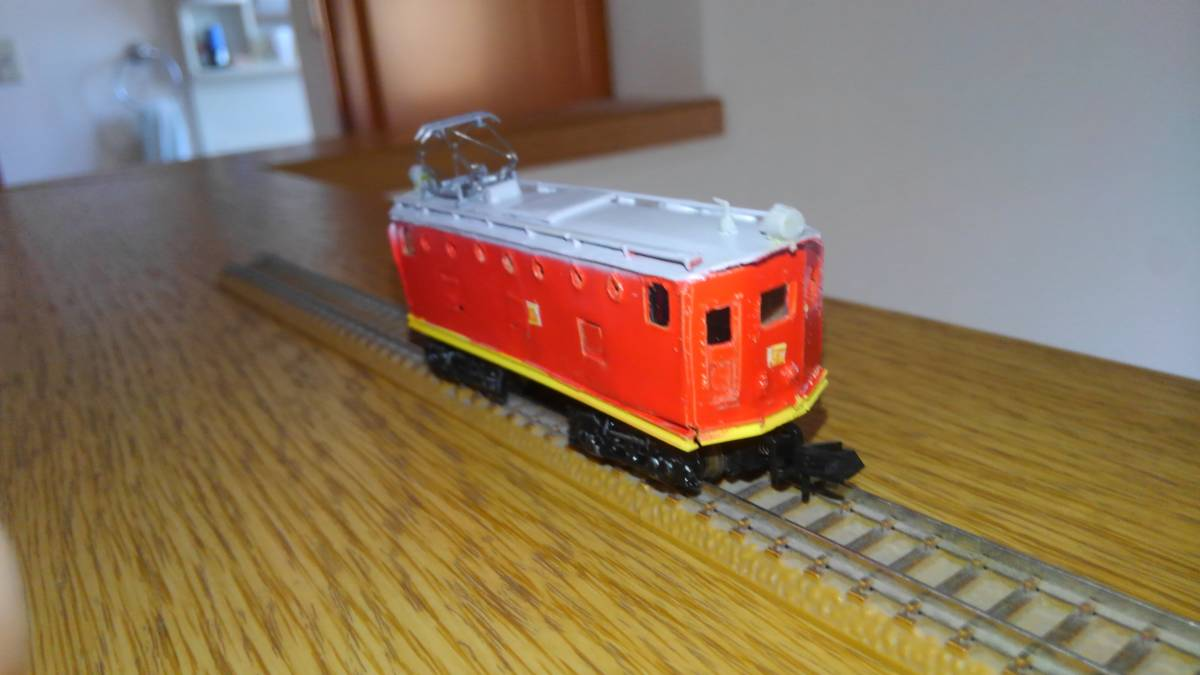 電気機関車 近鉄デ51 私鉄電機 鉄コレ動力 丸窓_画像4