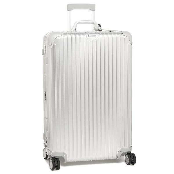 リモワ スーツケース RIMOWA 924.73.00.5 トパーズ シルバー アルミニウム製 4輪 85L 78CM 85L 7~10泊用 TSAロック機能搭載 E-tag搭載