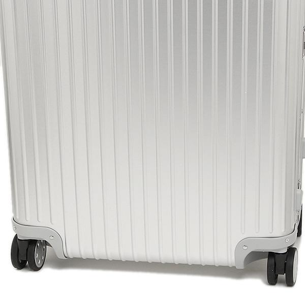 リモワ スーツケース RIMOWA 924.73.00.5 トパーズ シルバー アルミニウム製 4輪 85L 78CM 85L 7~10泊用 TSAロック機能搭載 E-tag搭載_画像6