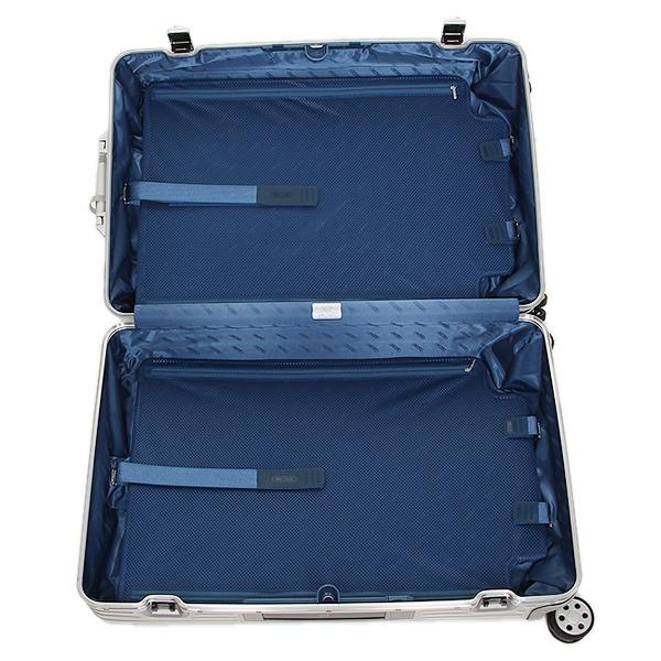 リモワ スーツケース RIMOWA 924.73.00.5 トパーズ シルバー アルミニウム製 4輪 85L 78CM 85L 7~10泊用 TSAロック機能搭載 E-tag搭載_画像2