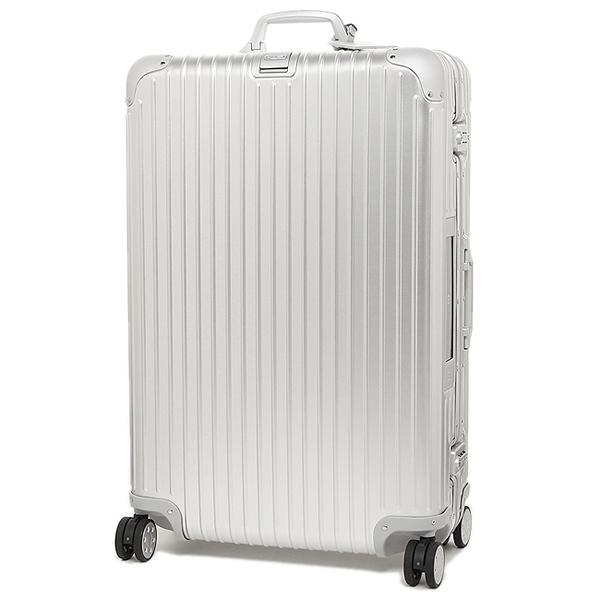 リモワ スーツケース RIMOWA 924.73.00.5 トパーズ シルバー アルミニウム製 4輪 85L 78CM 85L 7~10泊用 TSAロック機能搭載 E-tag搭載_画像3