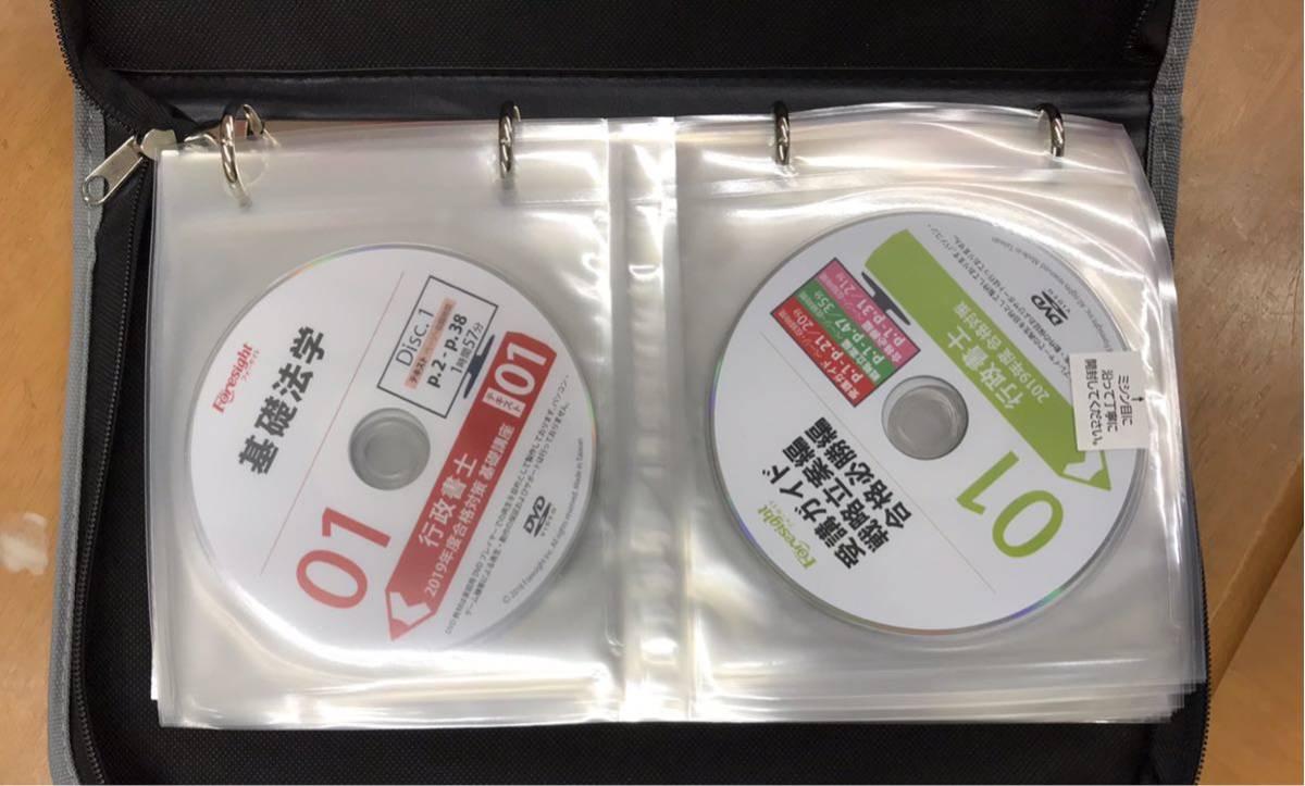 フォーサイト 行政書士 2019年度版 DVDコース 最新_画像6