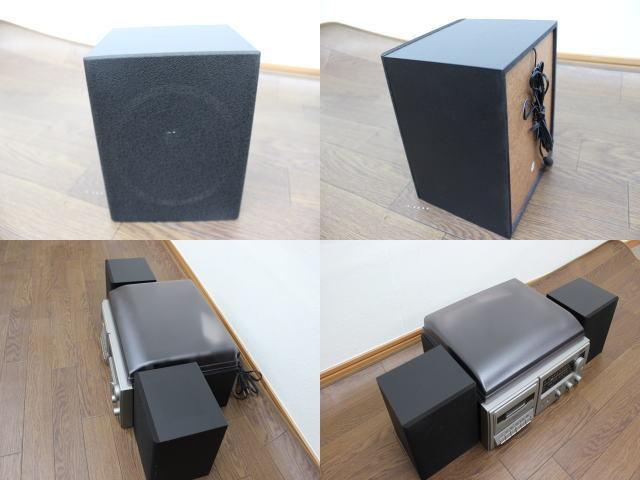 未使用☆LIEBEINS コンポ レコードプレイヤー カセット SW-100 卓上型ラジオ ☆ミニコンポ_画像7