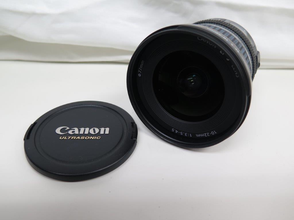 【USED】Canon/キャノン/レンズ/CANON ZOOM LENS EF-S 10-22mm 1:3.5-4.5 USM/オートフォーカス