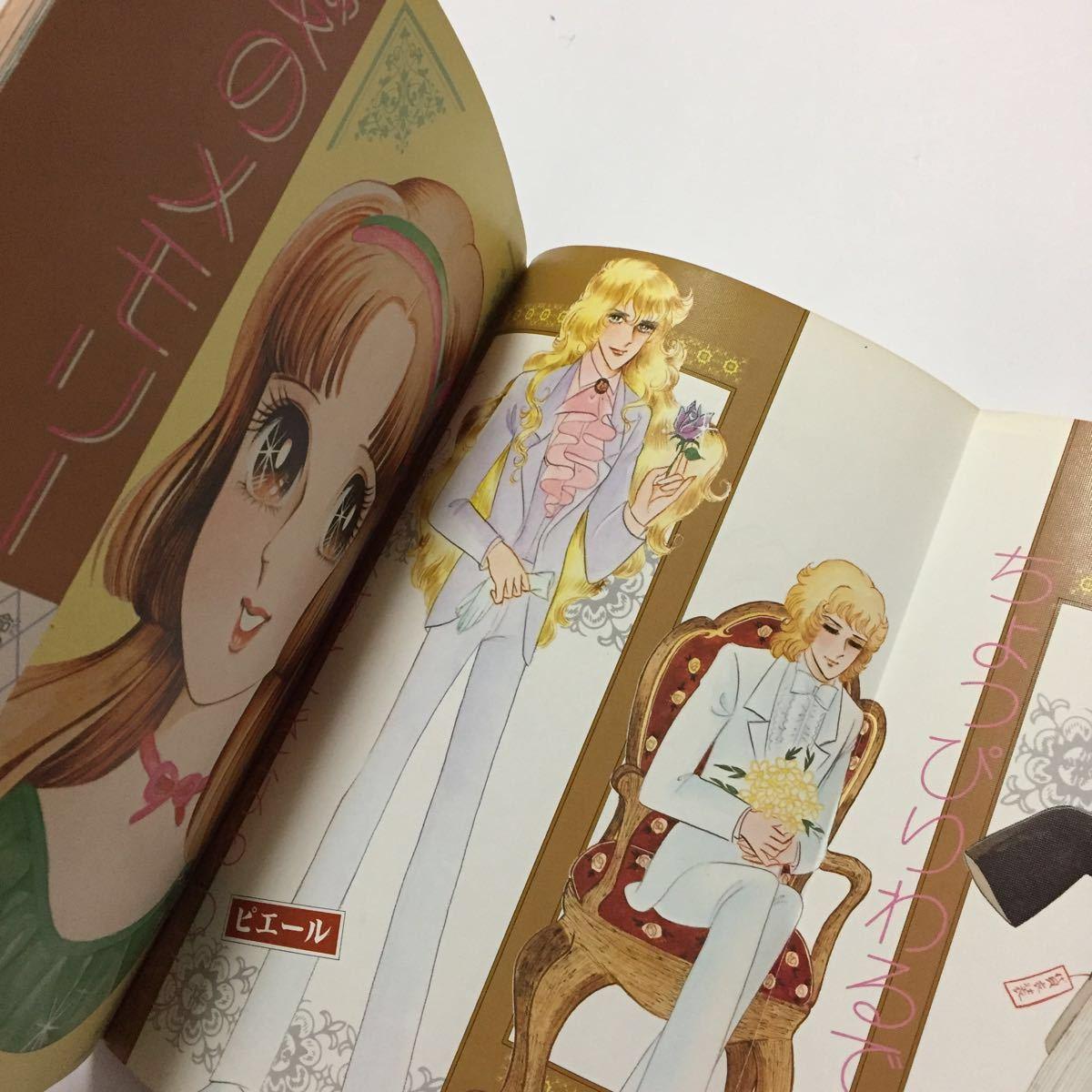 初版 うわさの姫子 愛のメモリー イラスト集 藤原栄子_画像4