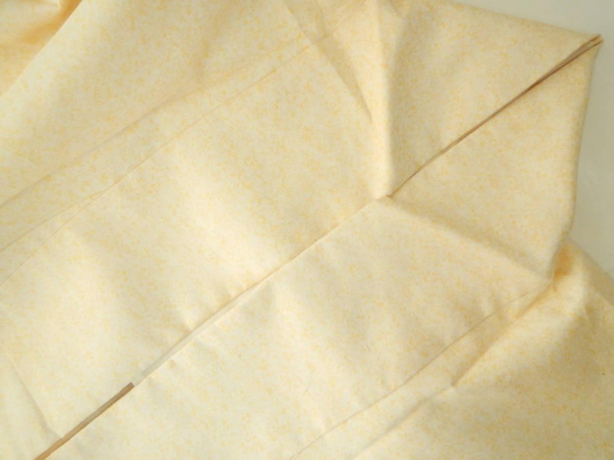 <銀の斧>正絹・紬地相良刺繍訪問着・糊吹染・春の紬・牛首紬・白山紬_画像8
