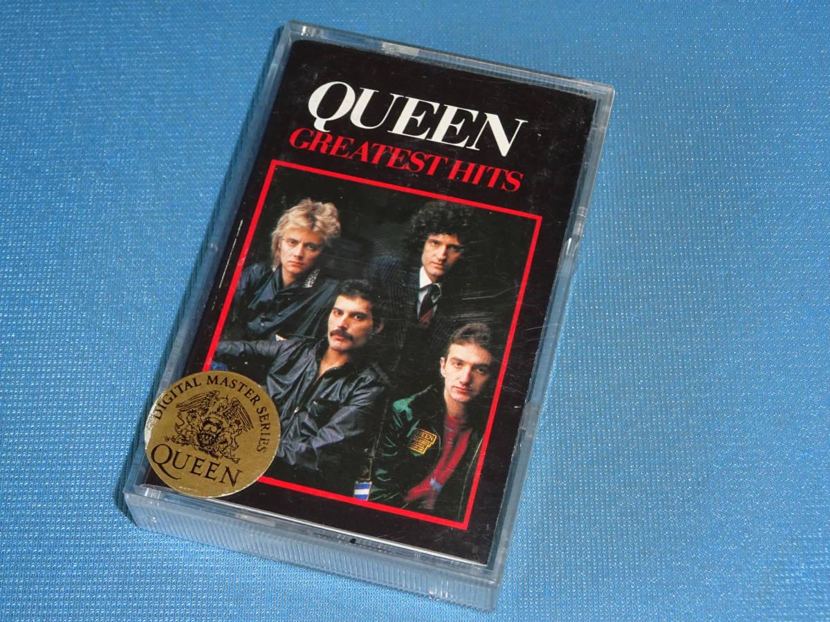 ★クイーン★ 「QUEEN GREATEST HITS」 UK盤 カセットテープ