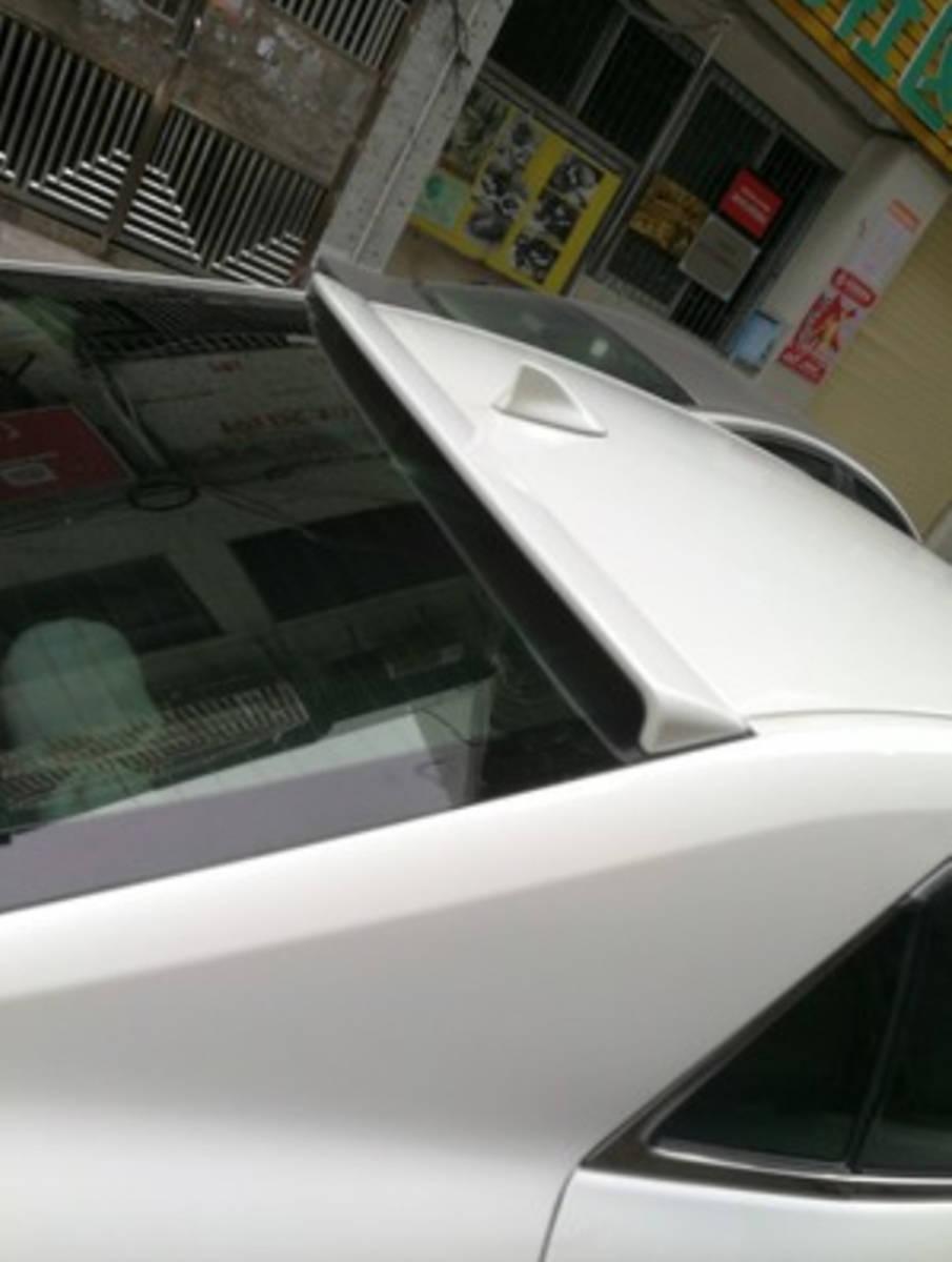 クラウン GSR210系 純正色対応 クラウンハイブリッド AWS210系 マジェスタ GWS210 リア ルーフスポイラー 塗装色付 トヨタ 2012-2018_画像1