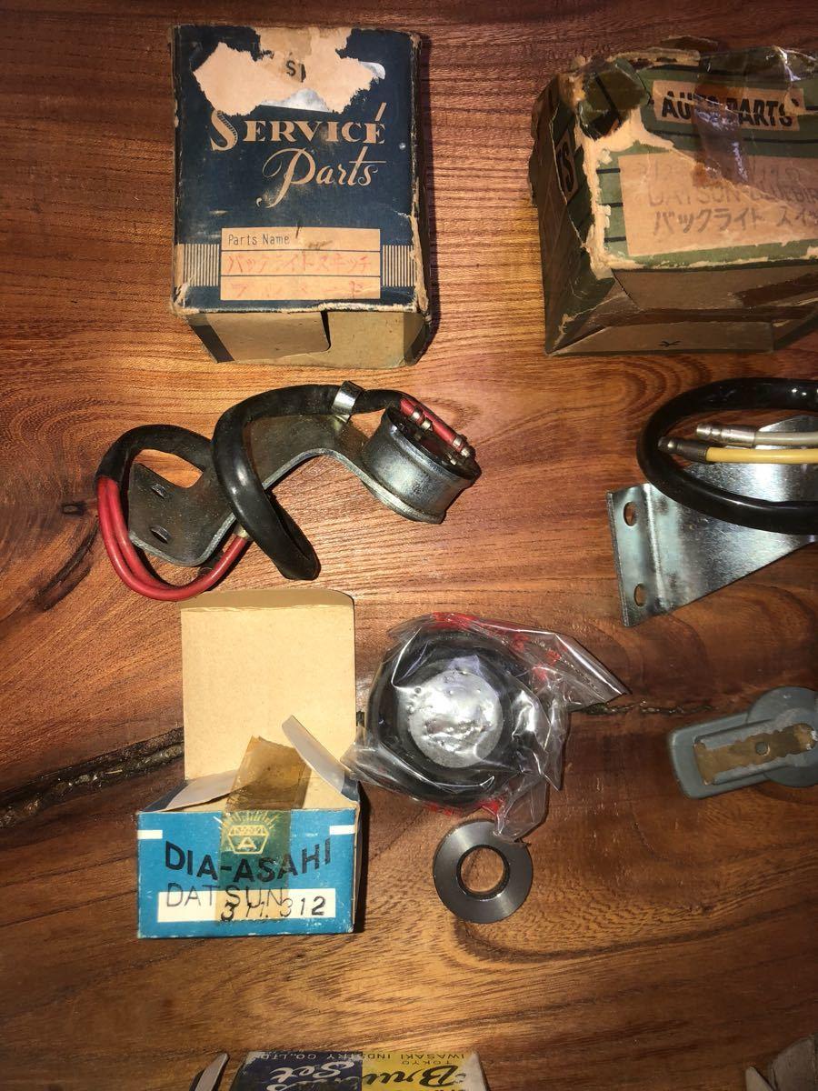 希少!ダットサン311、312、410、411、520 ブルーバード 、セドリック、グロリア デスビローター他部品セット新品 売り切り。_画像2