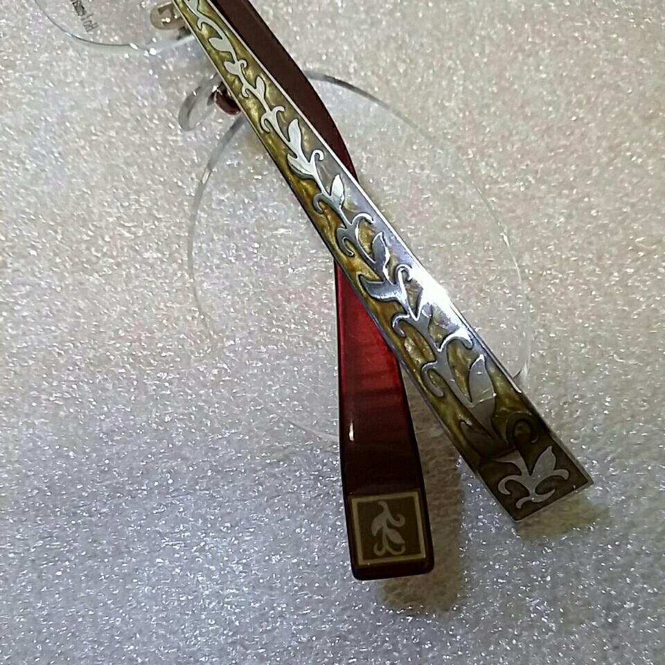 ホールマンンズ 眼鏡フレーム 未使用展示品_画像4