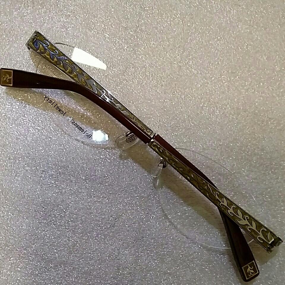 ホールマンンズ 眼鏡フレーム 未使用展示品_画像3