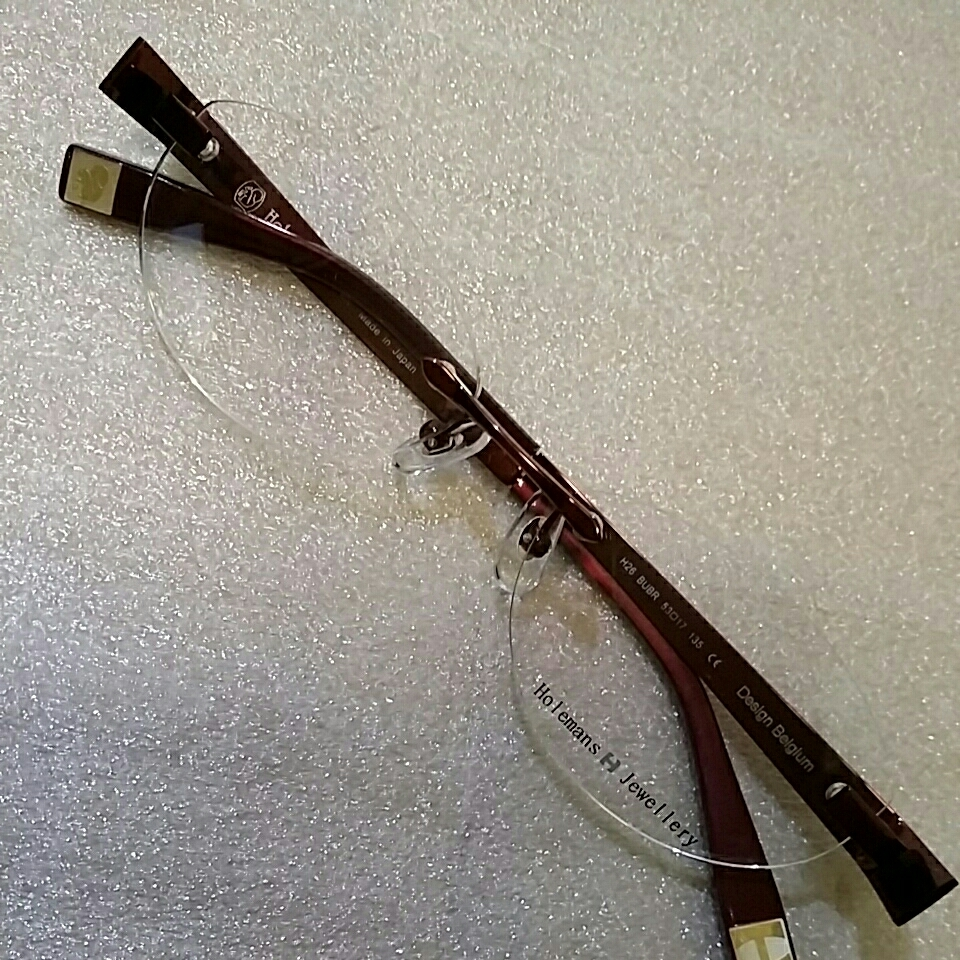 ホールマンンズ 眼鏡フレーム 未使用展示品_画像2