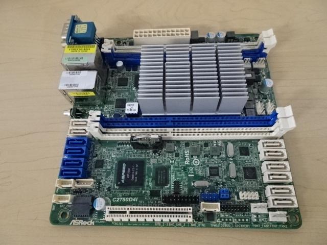 [ジャンク] ASRock C2750D4I Mini ITX マザーボード_画像3