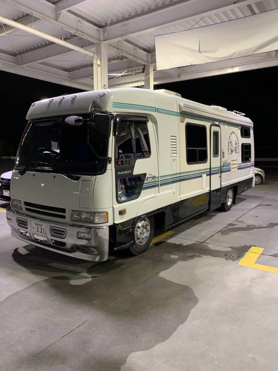 「エアロクルーザー キャンピングカー カスタム ヒッチメンバー 車検付 日野 キャンプ」の画像1