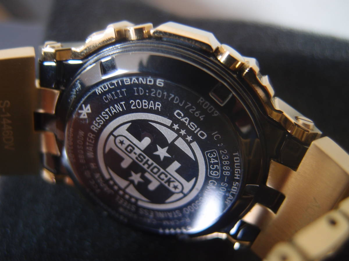 美品 35周年記念モデル GMW-B5000TFG-9JR_画像2