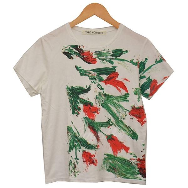 【5/9値下げ】二子玉)C16 TARO HORIUCHI タロウホリウチ プリントTシャツ Tシャツ 584518001115_画像1