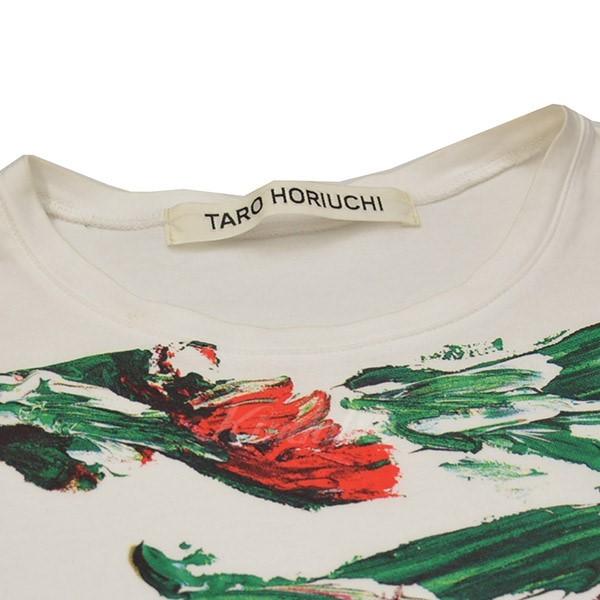 【5/9値下げ】二子玉)C16 TARO HORIUCHI タロウホリウチ プリントTシャツ Tシャツ 584518001115_画像3