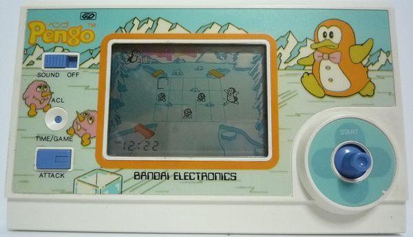バンダイ BANDAI ペンゴ/Pengo LSIゲーム GDシリーズ 日本製 本体のみ ジャンク 送料無料_画像1
