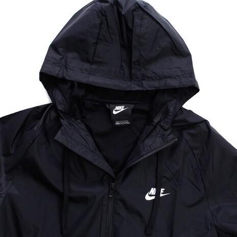 NIKE ナイキ ウーブン フーディ ウィンドブレーカ スーツ パンツ 上下セット 黒 Mサイズ 928120-010_画像4