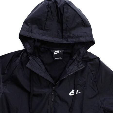 NIKE ナイキ ウーブン フーディ ウィンドブレーカ スーツ パンツ 上下セット 黒 M 928120-010_画像4