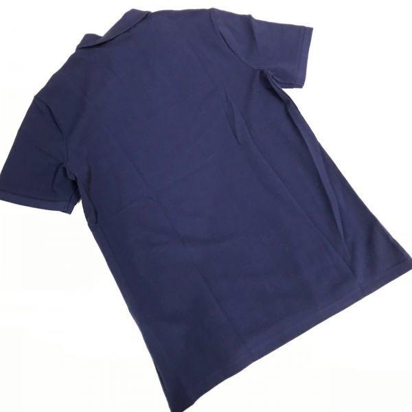 NIKE ナイキ マッチアップ ポロシャツ 半袖 ネイビー L PQ_画像3