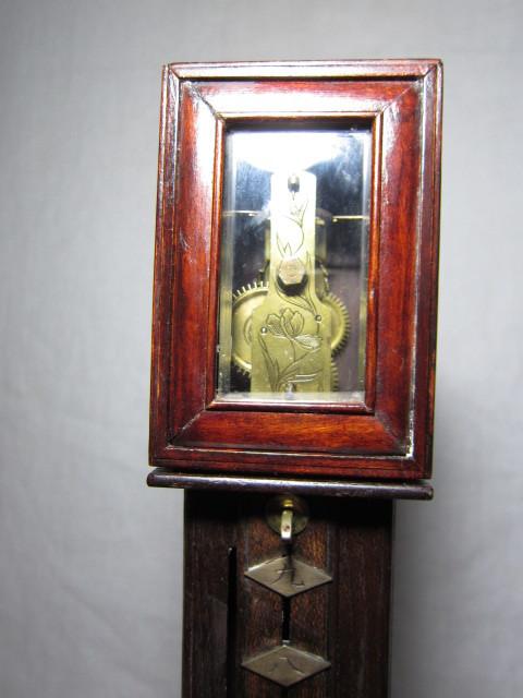 KI レトロ アンティーク 動作品 和時計 尺時計 大名時計 古い掛け時計_画像2