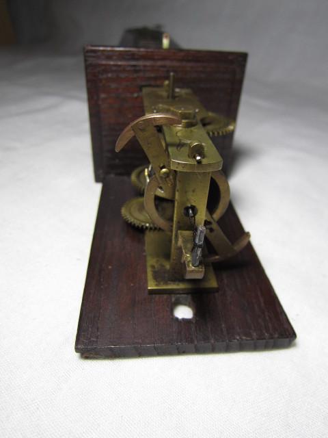 KI レトロ アンティーク 動作品 和時計 尺時計 大名時計 古い掛け時計_画像8