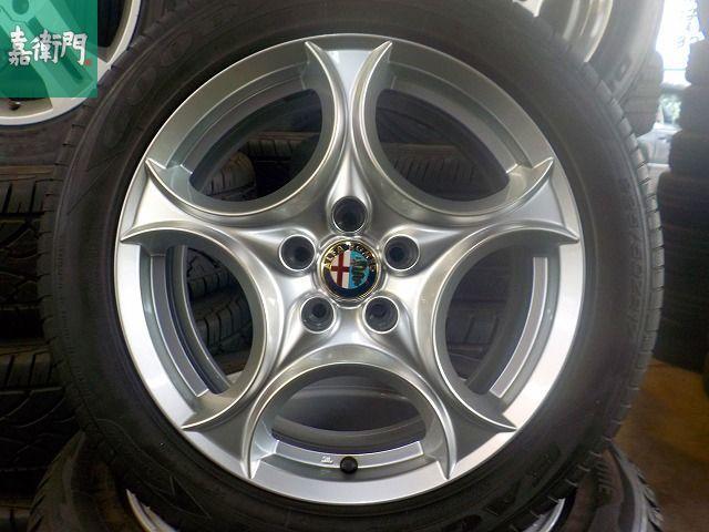 そろそろ履き替えの季節です☆アルファロメオ ブレラ 純正 2018年 HANKOOK VENTUS V12 EVO2 新品時のイボ付きタイヤ 159 スパイダー