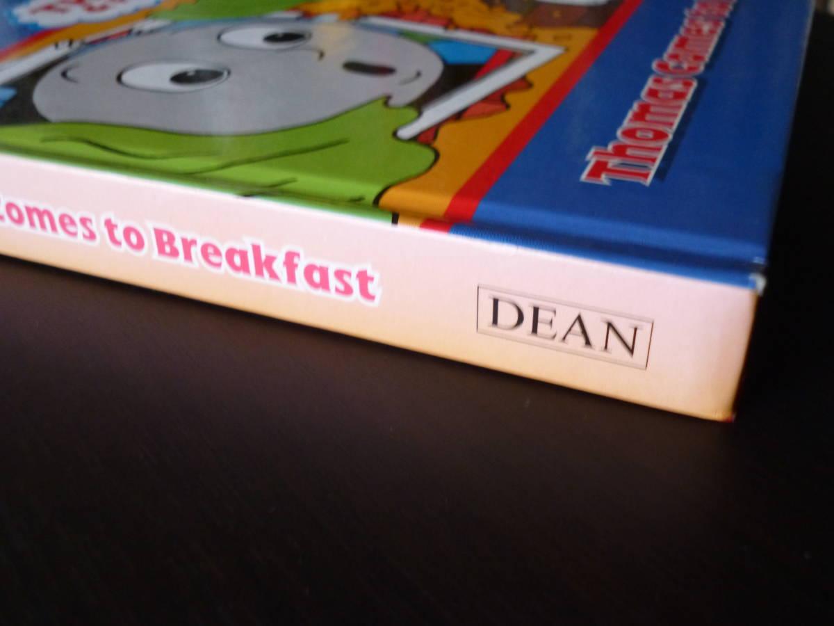 ☆英語えほん☆Thomas Comes to Breakfast  Thomas & Friends ボードブック きかんしゃトーマス  /幼児向け/子供/多読