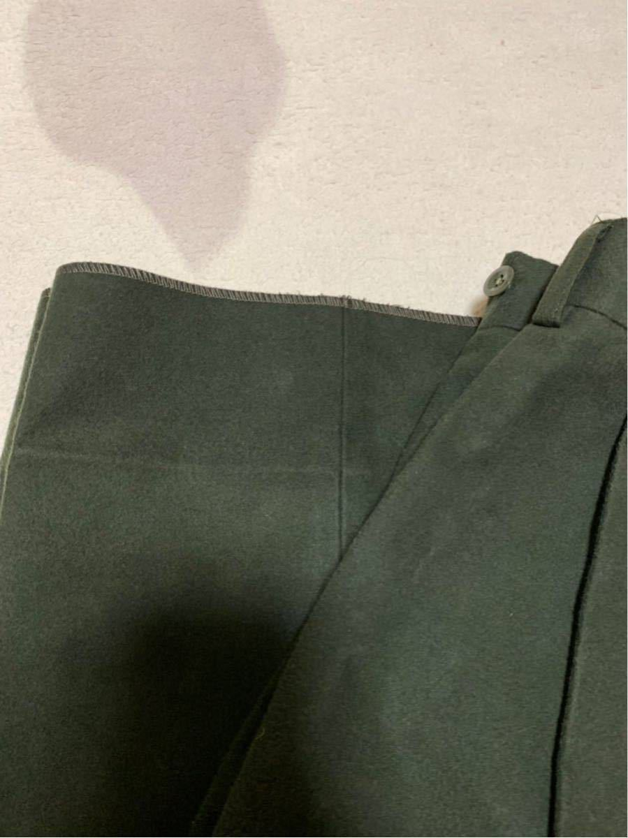 NEAT ニート Moleskin〈brushed〉 WIDE - OLIVE_画像4