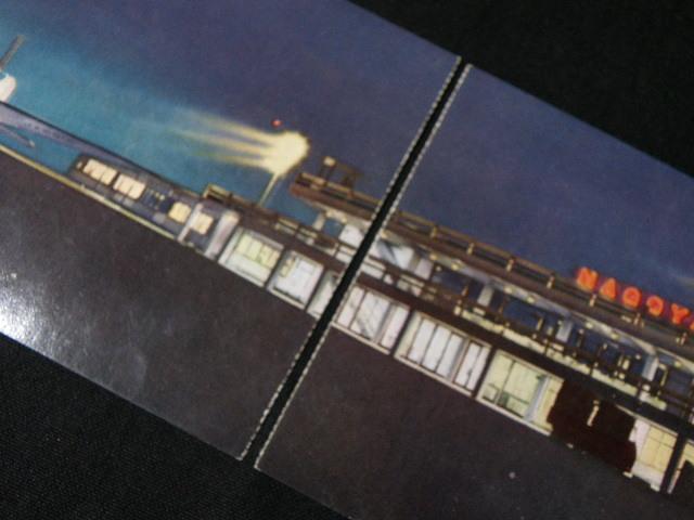 11 絵葉書 名古屋空港 7枚 / 昭和レトロ 愛知県 空港 航空機 飛行機 日ペリ航空 パノラマ _画像4