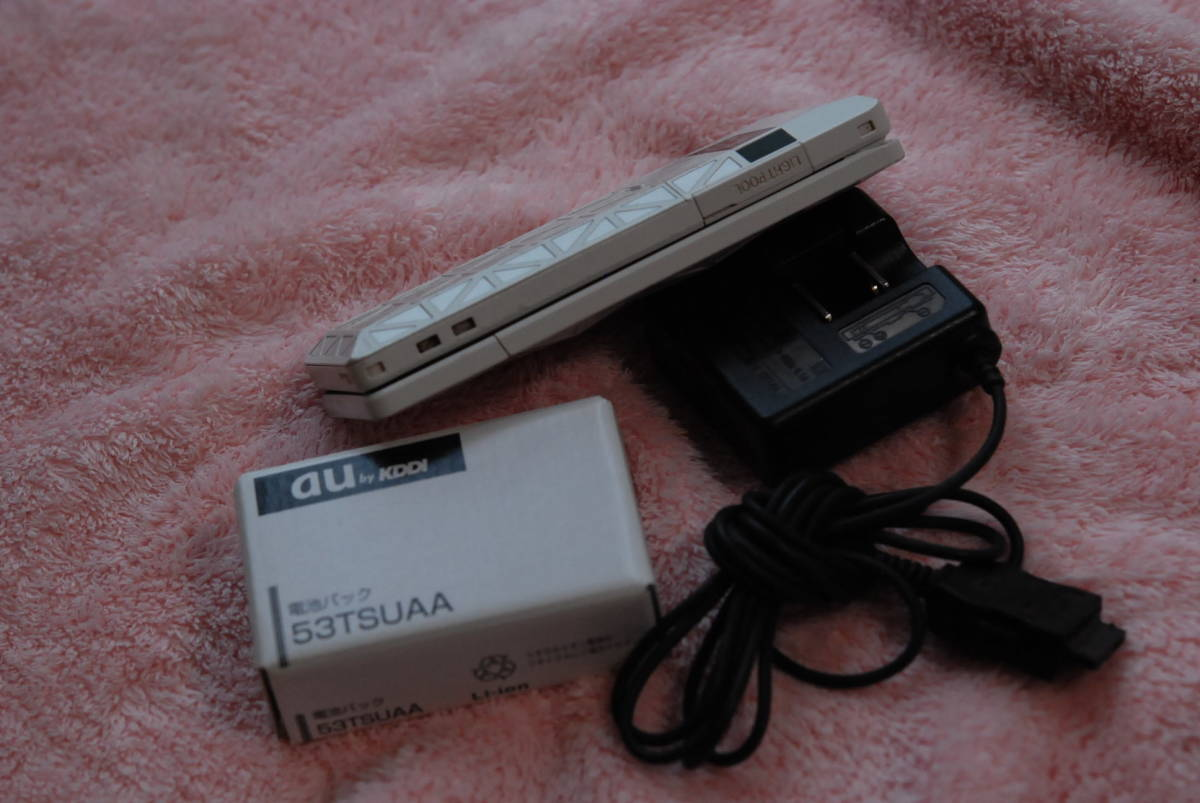 未使用 53TSUAA 電池パック   さらにオマケとしてLIGHT POOL 本体(ジャンク扱い)+使用中の電池+MICROSD 4GB+充電器等_画像3