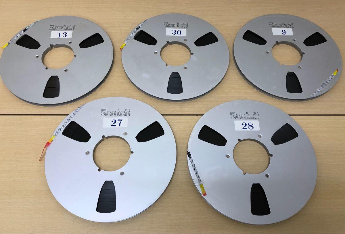 SONY・SCOTCH・オープンリールテープ・使用済_画像2