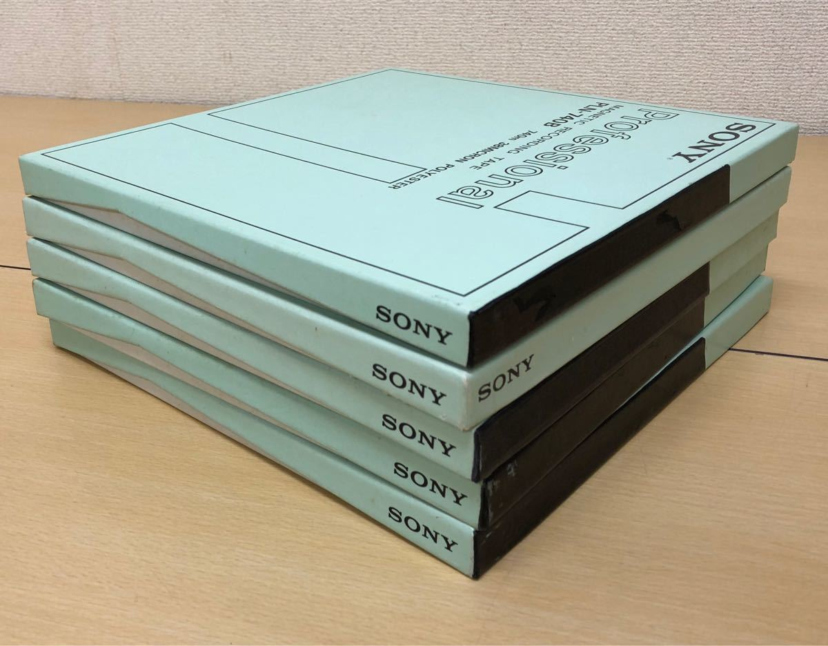 SONY・SCOTCH・オープンリールテープ・使用済_画像8