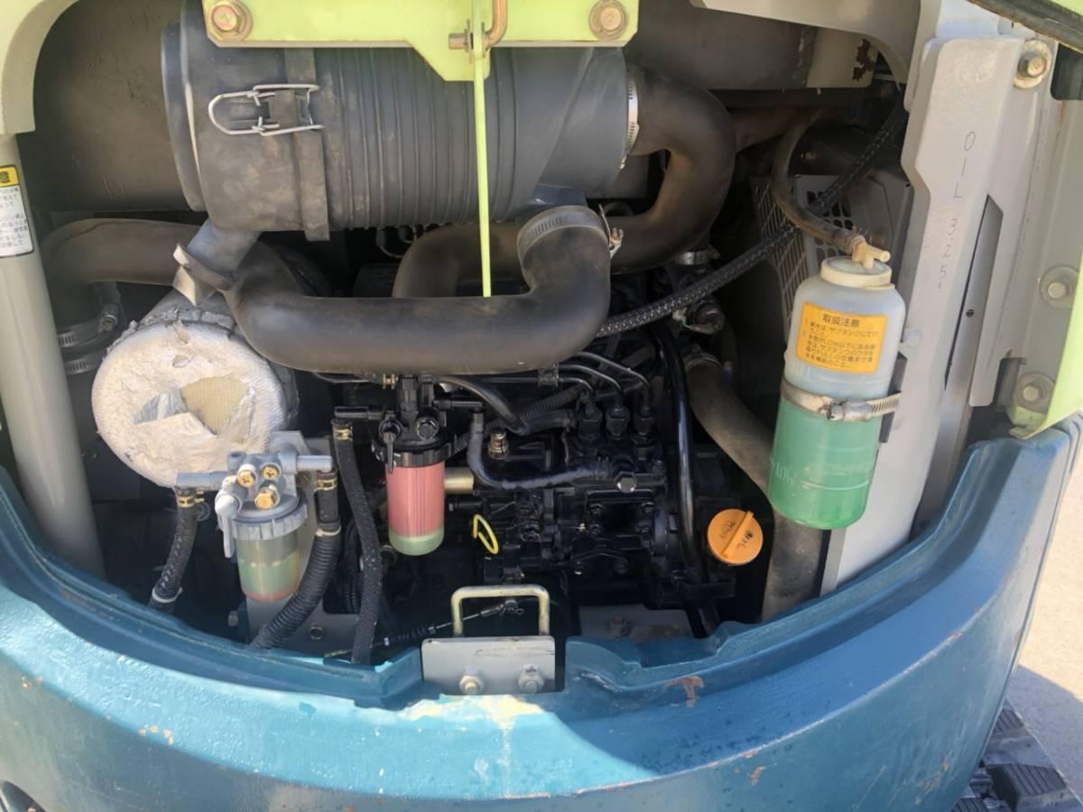 ヤンマー マイクロショベル Vio20-2油圧付き点検整済み売り切り格安!!_画像10