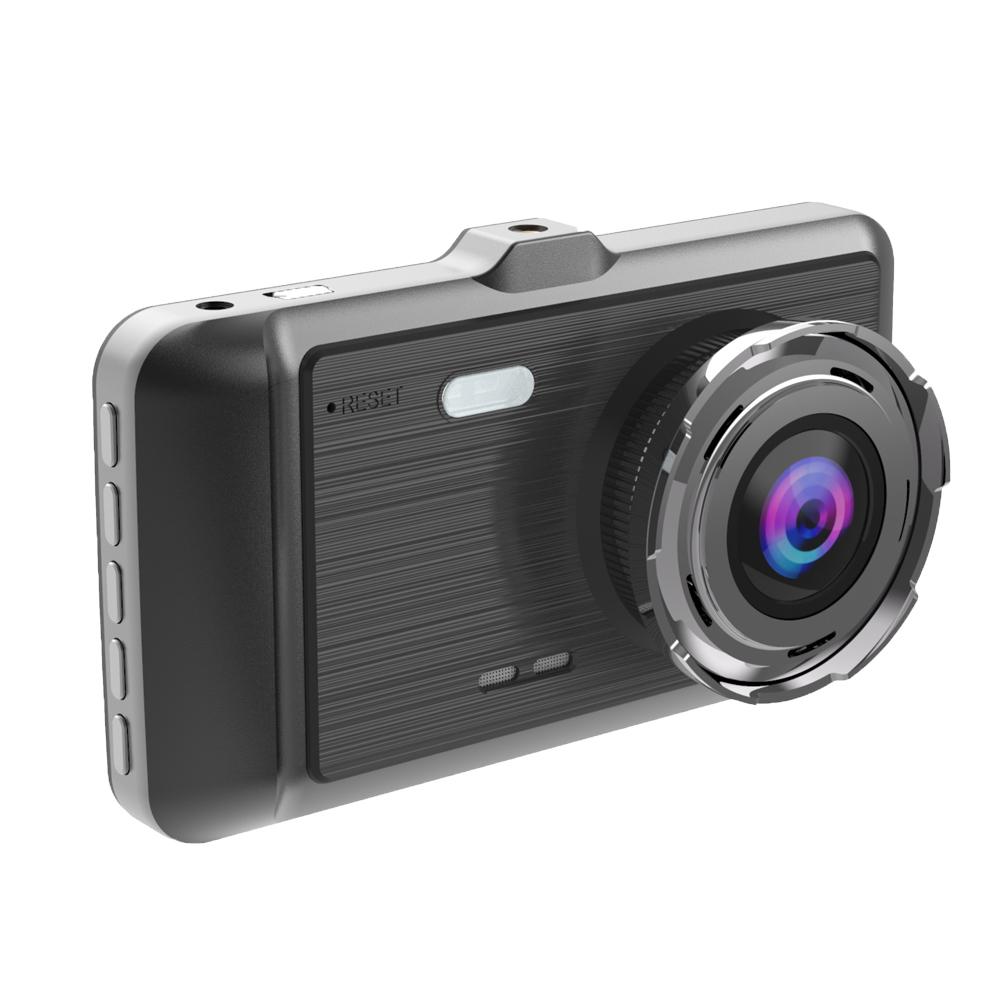 ドライブレコーダー 4.0インチ高画質 2カメラ搭載 170広視野角 Gセンサー搭載 常時録画 衝撃録画 前後カメラ_画像2