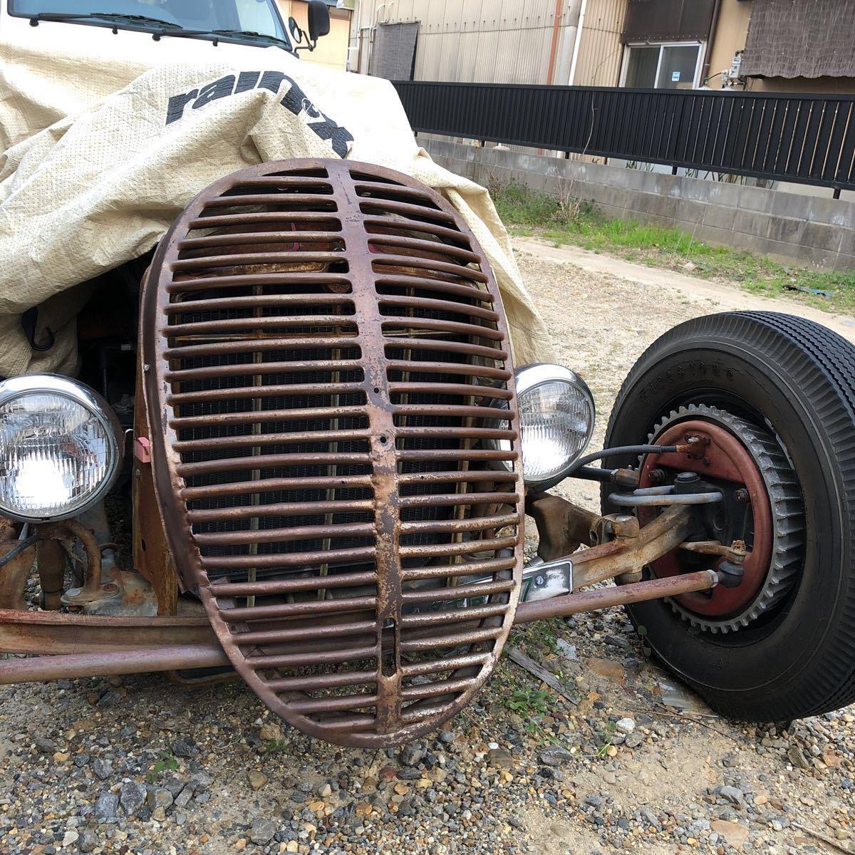 hotrod 30sトラックグリル モデルA モデルT 鉄仮面 ホットロッド_画像1