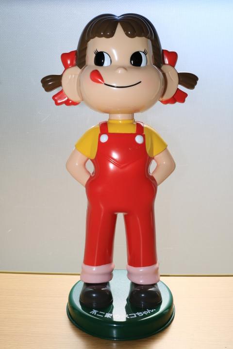 当時物 ペコちゃん 首ふり人形 不二家 と ヤン坊マー坊人形 ヤンマー 3体セット_画像3