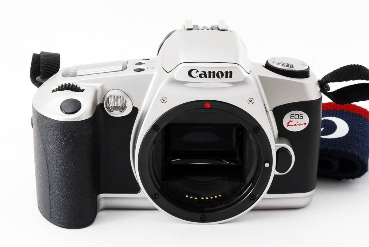 CANON EOS KISS 35mm フィルムカメラ film CAMERA #411815_画像2