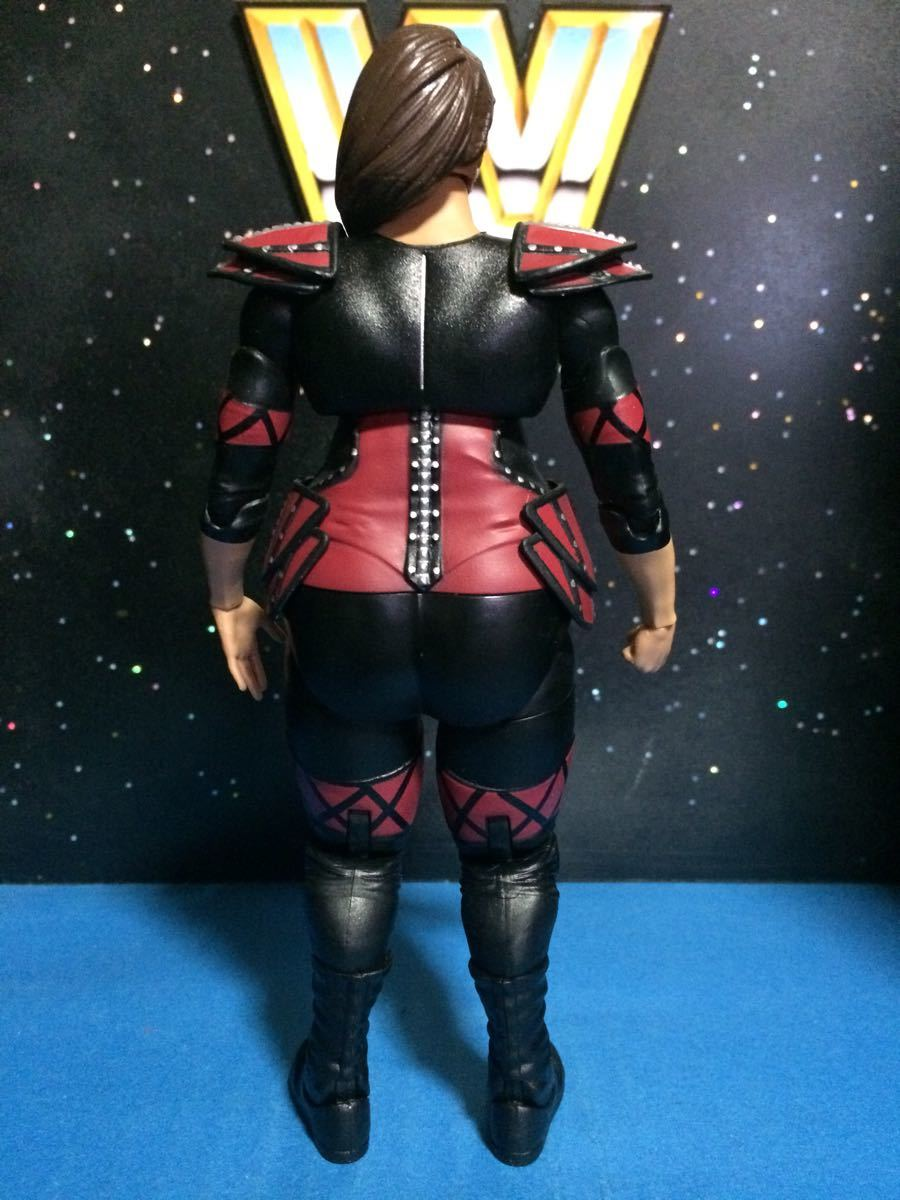 WWE WWF プロレス フィギュア マテル ベーシック ナイアジャックス 並 関節良好_画像3