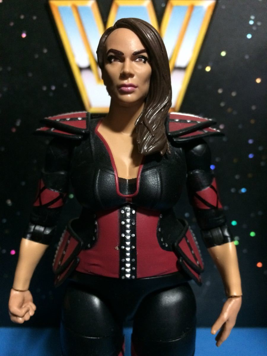 WWE WWF プロレス フィギュア マテル ベーシック ナイアジャックス 並 関節良好_画像2