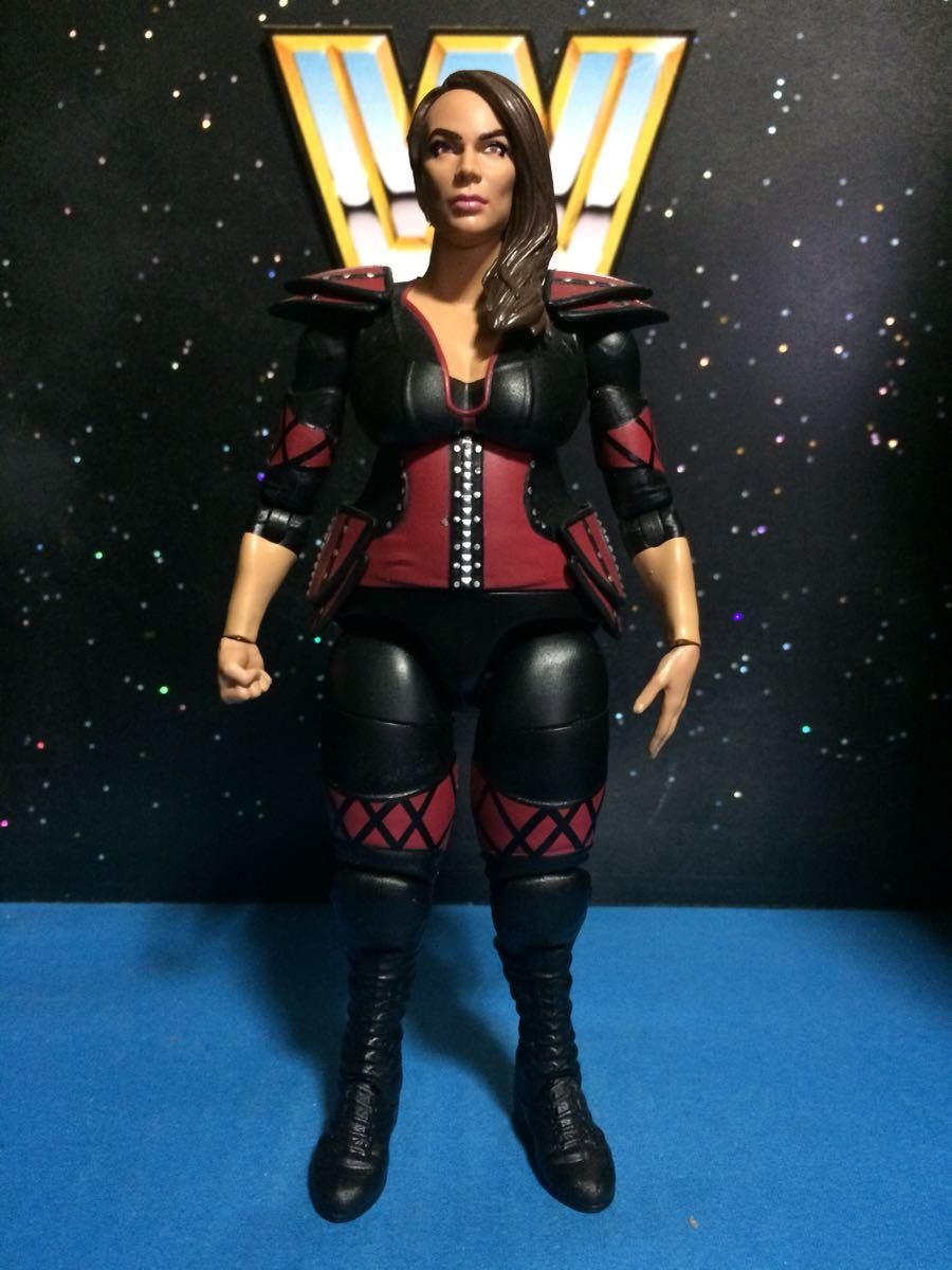 WWE WWF プロレス フィギュア マテル ベーシック ナイアジャックス 並 関節良好
