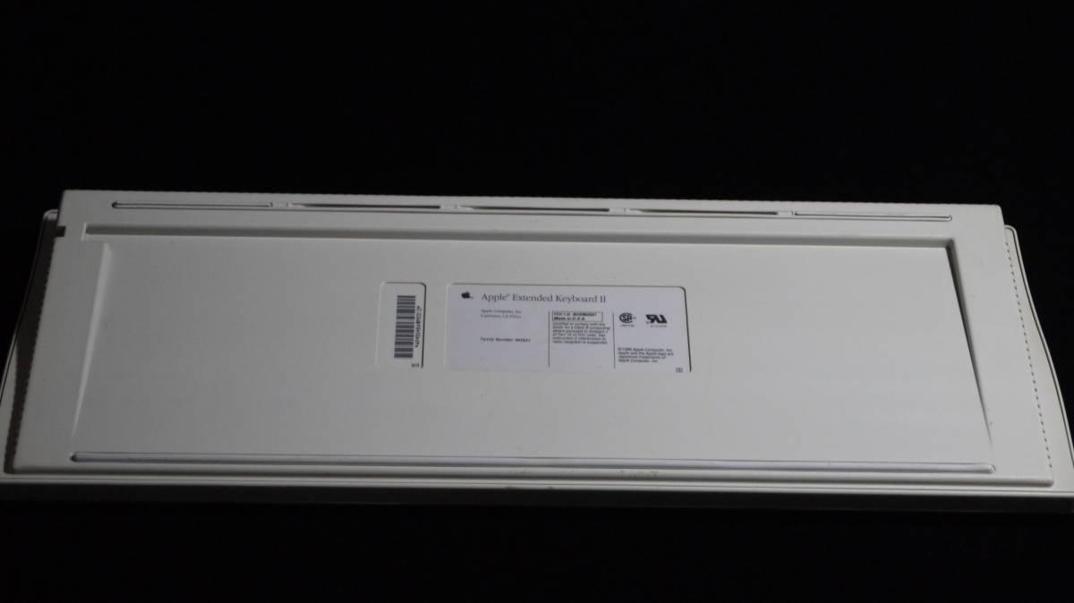 【 珍しい? 必要なかたどうぞ 】 Apple Extended Keyboard Ⅱ M3501 Made in USA _画像4