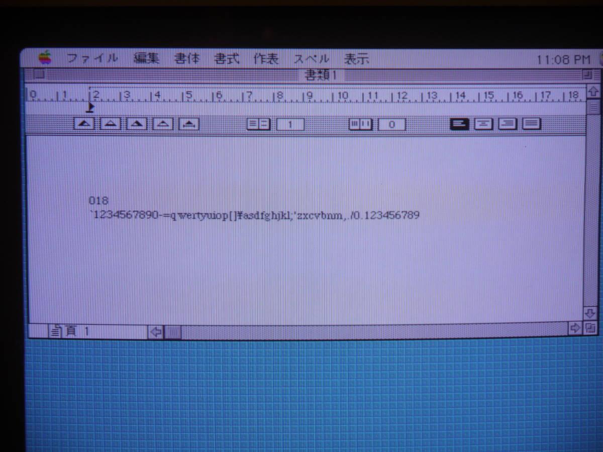 【 珍しい? 必要なかたどうぞ 】 Apple Extended Keyboard Ⅱ M3501 Made in USA _画像2