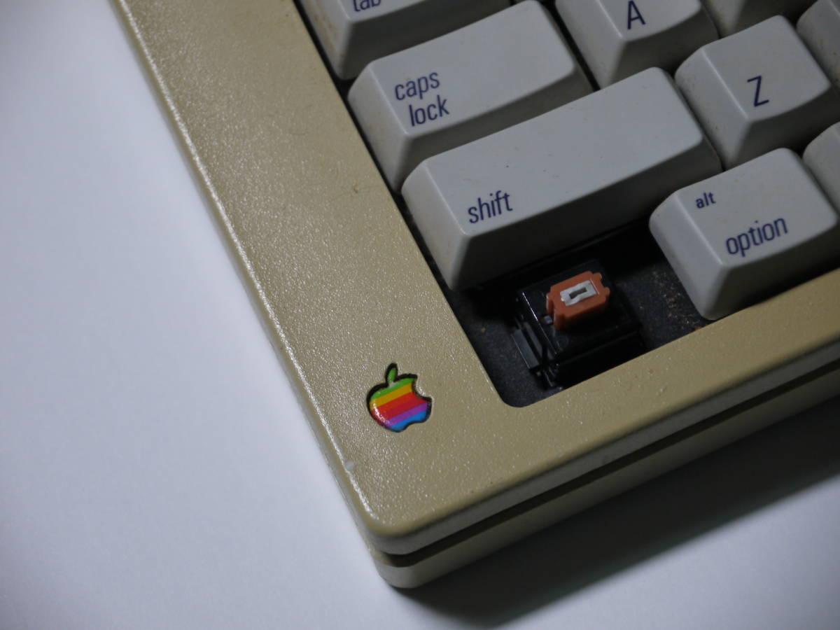 【 珍しい? ALPS軸 オレンジ 】 Apple Extended Keyboard M0115 Made in USA