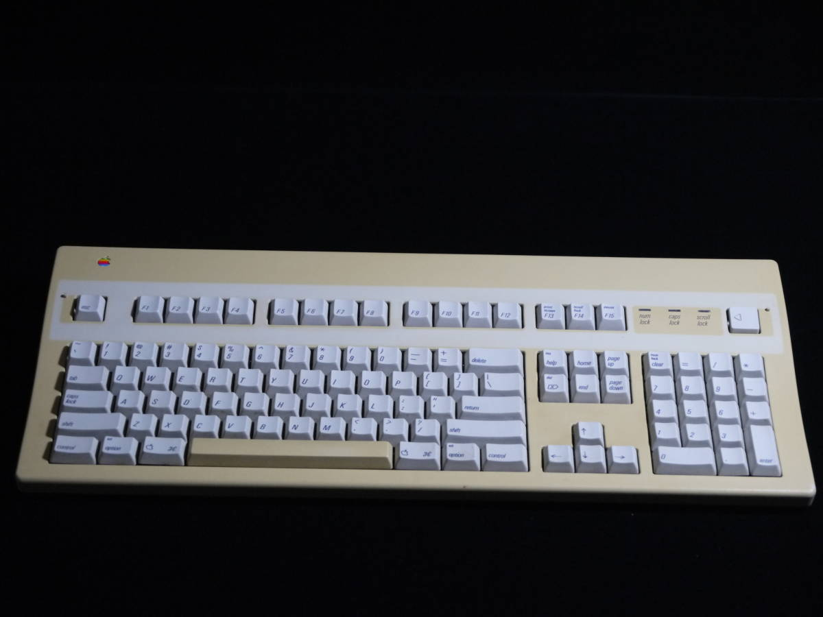 【 珍しい? 必要なかたどうぞ 】 Apple Extended Keyboard Ⅱ M3501 Made in USA