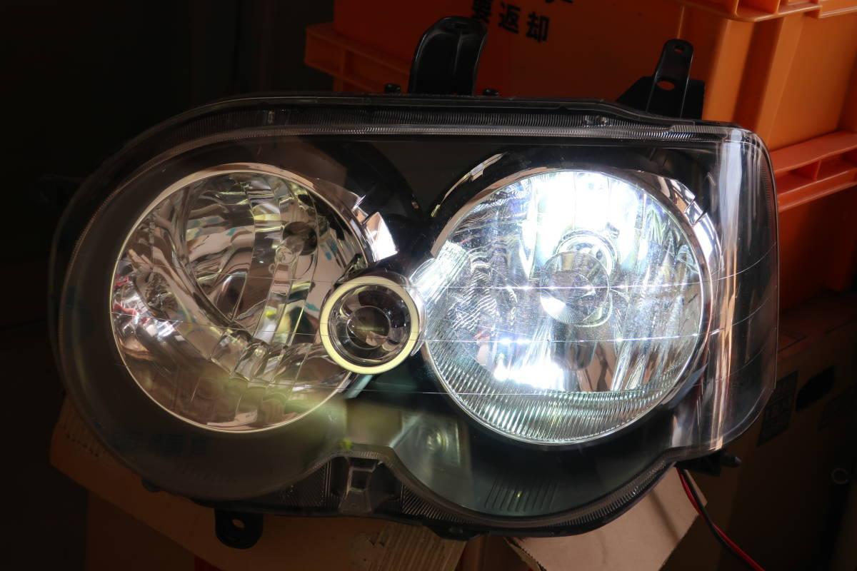 H17 CBA-L152S / L150S / L160S MOVE ムーブ ムーヴ カスタム RS 後期 純正 左側 HID ヘッドライト Assy / 100-51786_H31 3/5 時点でのHID点灯確認時です。